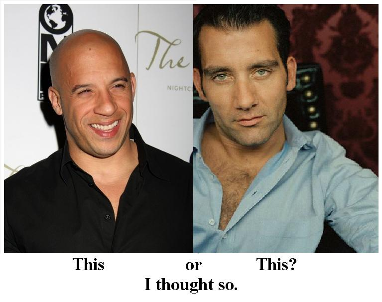 Vin Diesel And His Twin BrotherVin Diesel And His Twin Brother
