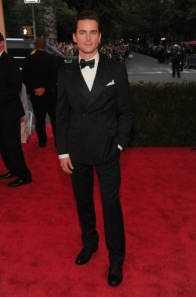 Matt Bomer: Possibly an angel, definitely well tailored.
