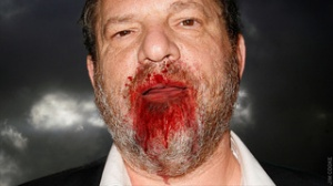 Harvey Weinstein, feasting on the blood of disenfranchised directors.
