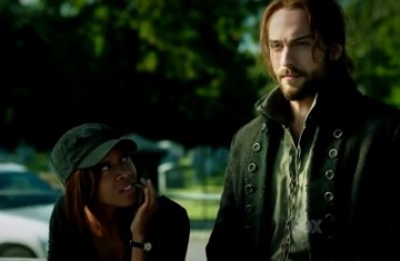 I don't know how anyone keeps a straight face on Sleepy Hollow.