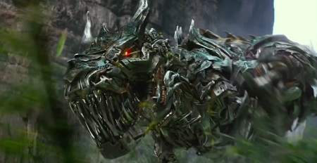 The Dinobots are in the movie for less than 20 minutes.